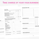 Profits and Prana Planner - Yoga Teacher Edition